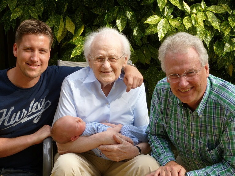 multigenerational family portrait