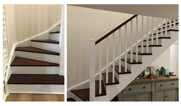 Bespoke Staircase in Home Addition