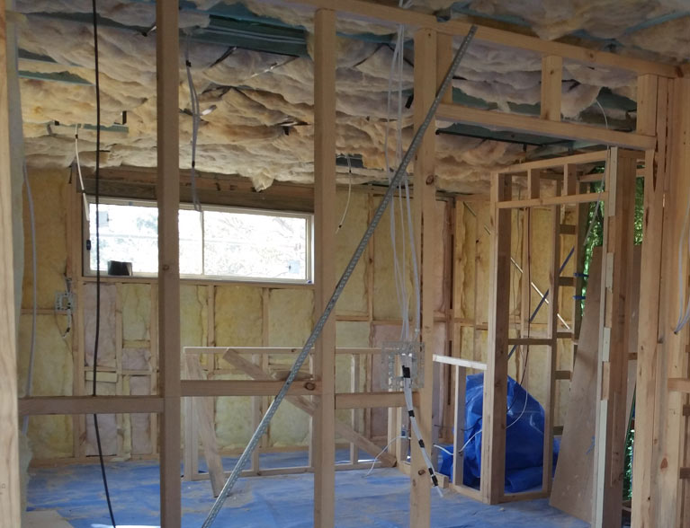 Wall and ceiling insulation